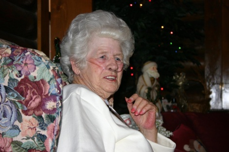 My Nannie, age 85