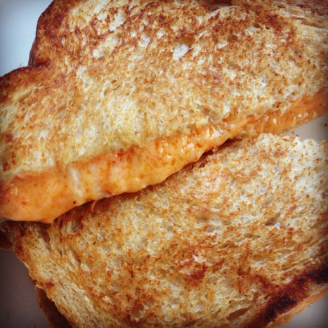 Grilled Pimento Cheese Sandwich - Yum!