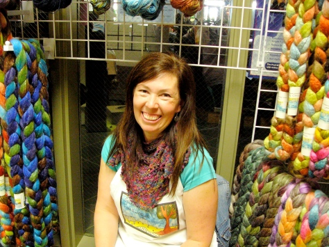 Carolyn Greenwood of Greenwood Fibers