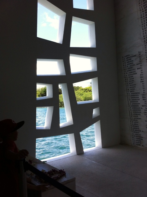 Inside the USS Arizona Memoria