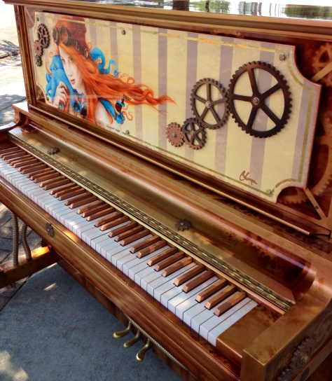 Funky piano on Historic 25th Street