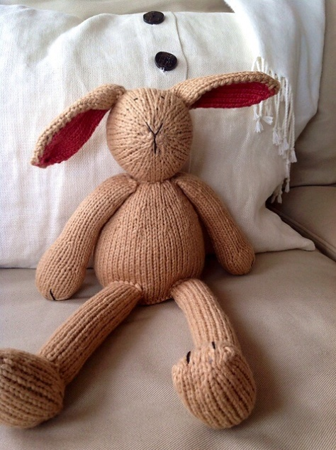 Bunny by Susan B. Anderson in Worsted Cotton