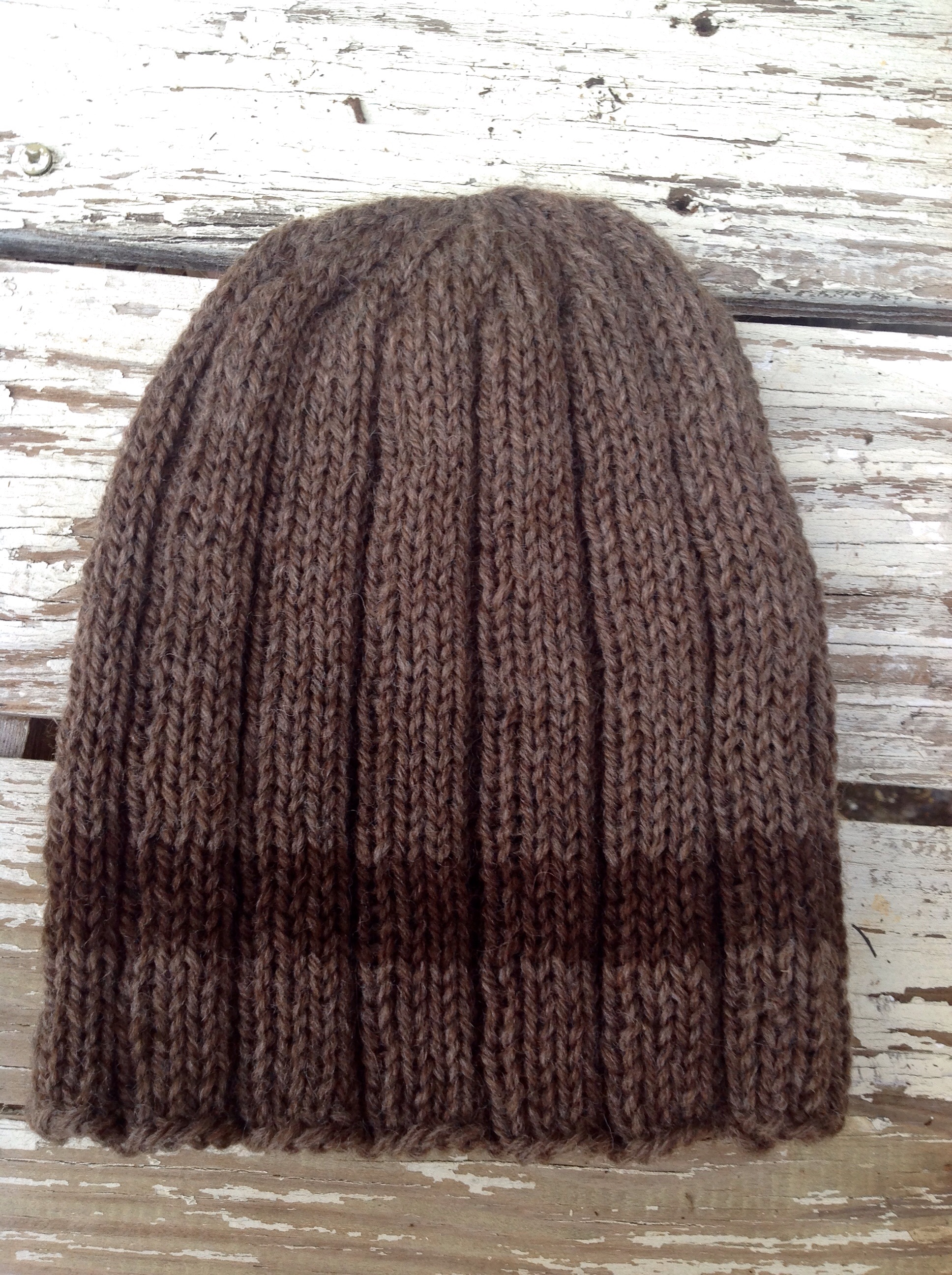 FO: 1 1 Ribbed Hat Plus the Pattern Hats, Patterns and Knits