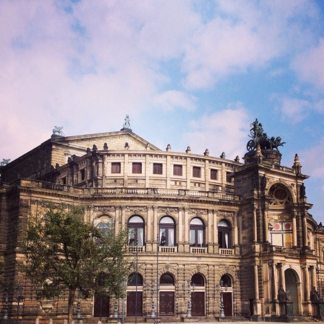 Semperoper, Opera House, Dresden