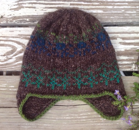 Rustic Fair Isle Hat - FROGGED