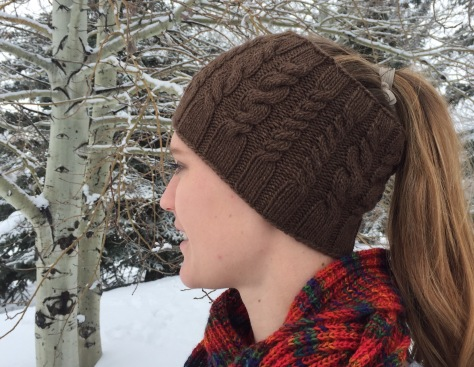 Yellowstone Skate Ski Hat - Heaven DK, 100% bison down