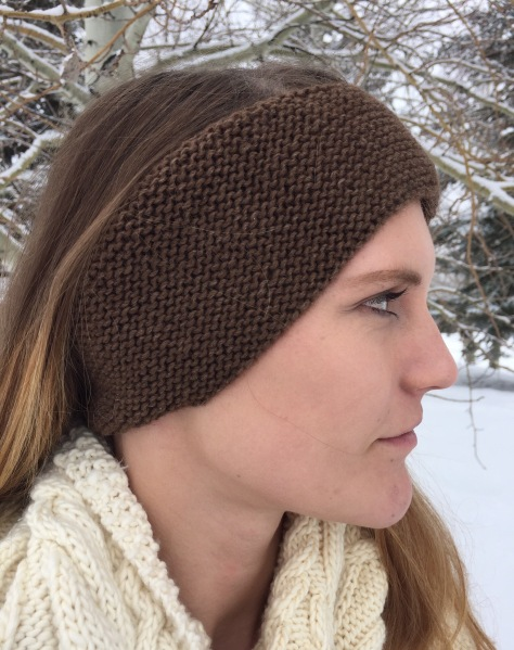 Yellowstone Ear Warmers - Heaven DK, 100% bison down