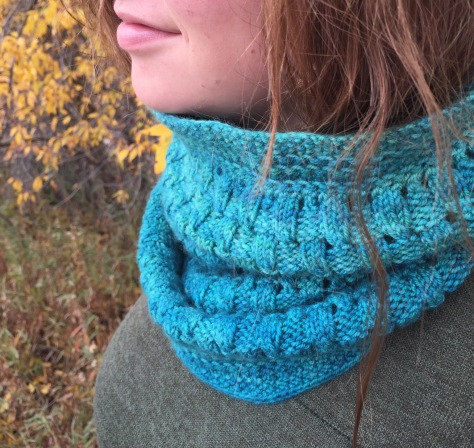Piedras Blancas Cowl in Mrs. Crosby Hat Box