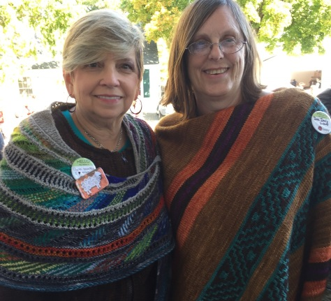 Gorgeous shawls
